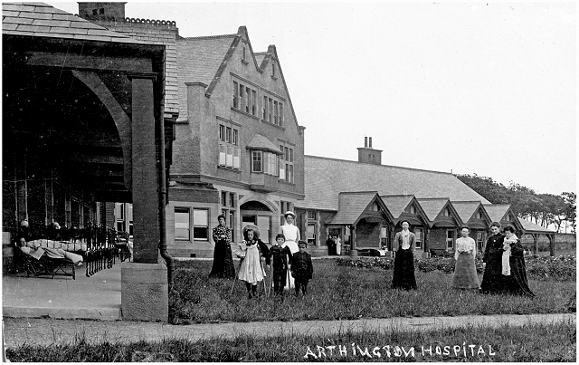 Arthington Hospital (postcard)