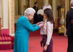 The Queen meets Kate from the North 300x214